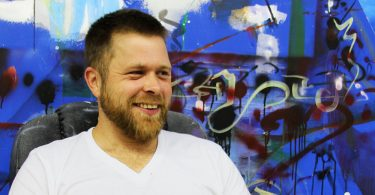 Asheville Muralist Ian Wilkinson