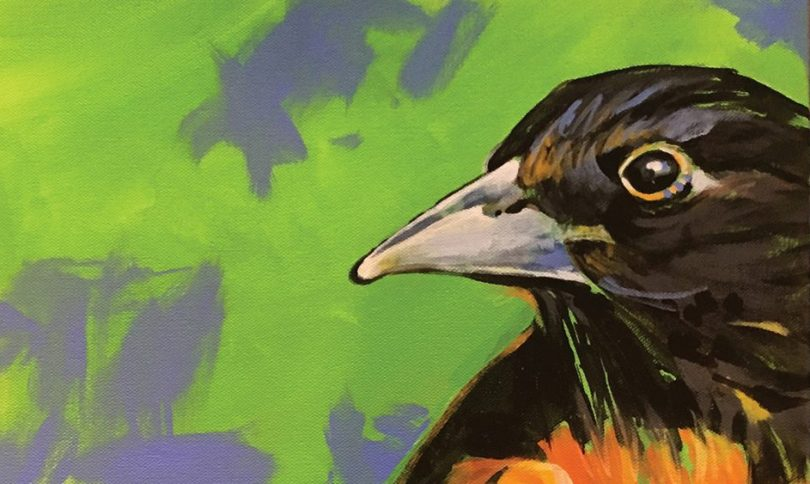 Art for Bird Conservation at Black Mountain Center for the Arts