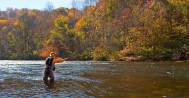 Fall Fly-Fishing in Western North Carolina
