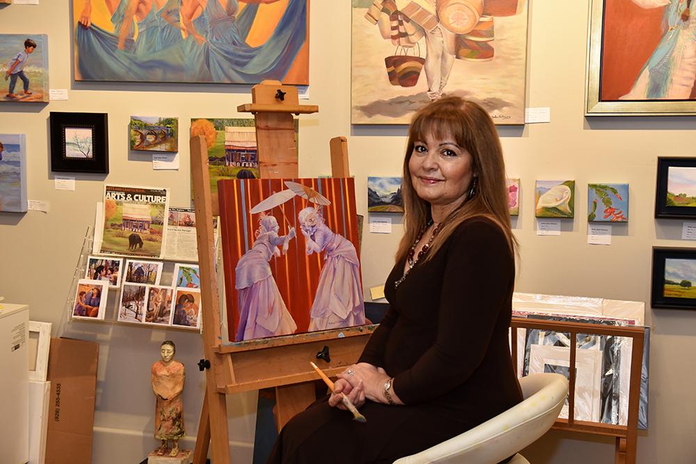 Laurel of Asheville Cover Artist Sahar Fakhoury