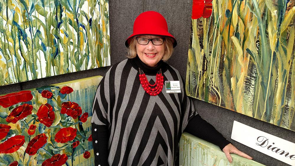 Laurel of Asheville Cover Artist Diane S. Dean