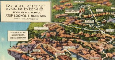 Rock City on Lookout Mountain near Chattanooga, Tennessee