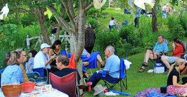 Golden Garden Party Benefits Food for People
