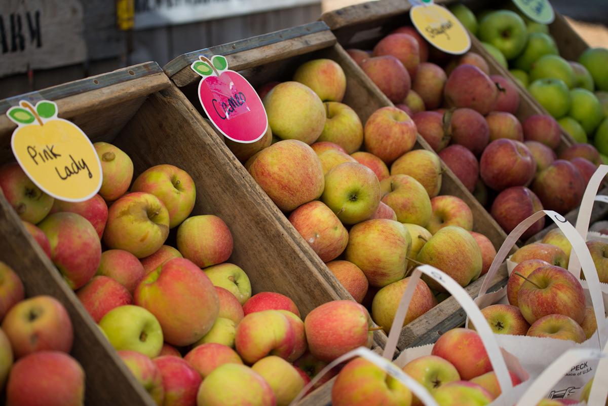 The NC Apple Festival in Hendersonville