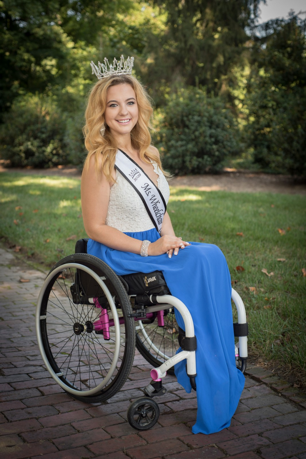 on a personal note  madeline delp  ms  wheelchair usa