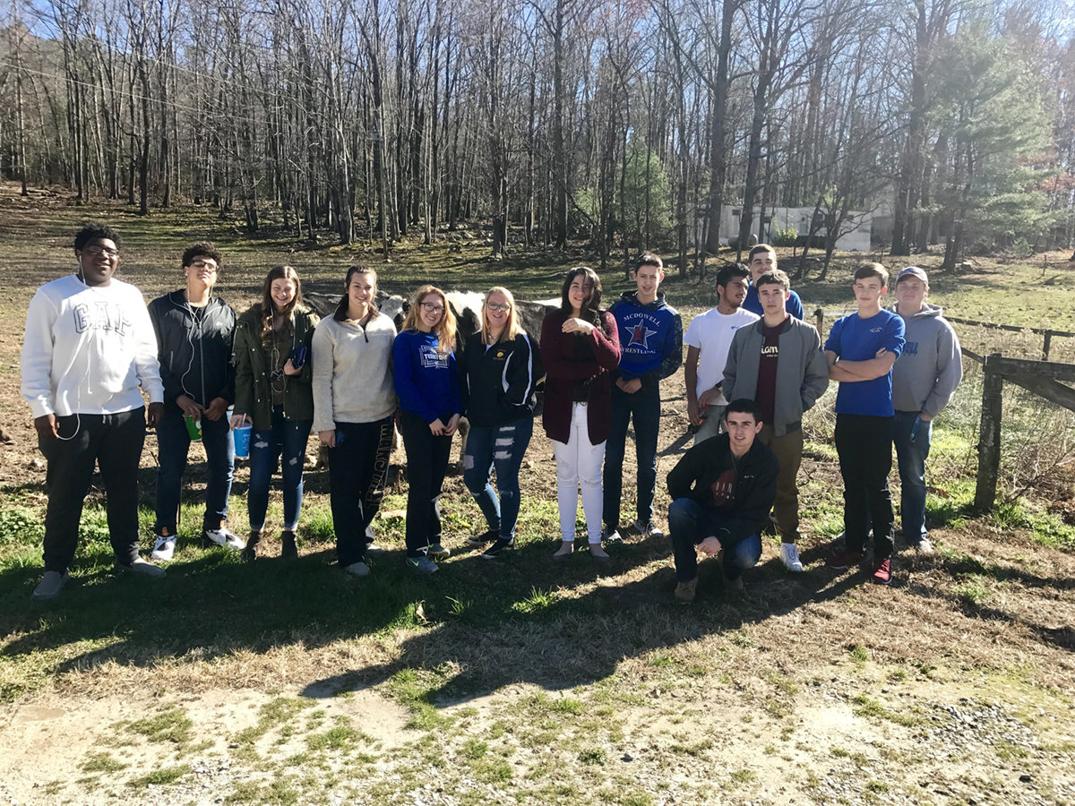 English Farmstead Partners with Students on Holiday Cheese Production