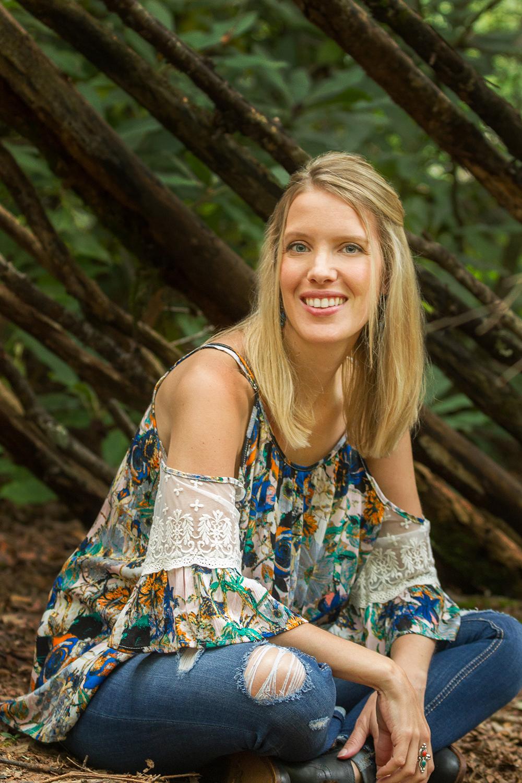 Laurel of Asheville Cover Artist Jen Starwalt