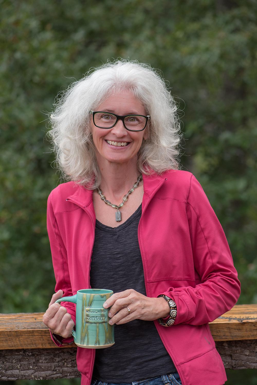 Laurel of Asheville Editor Frances Figart