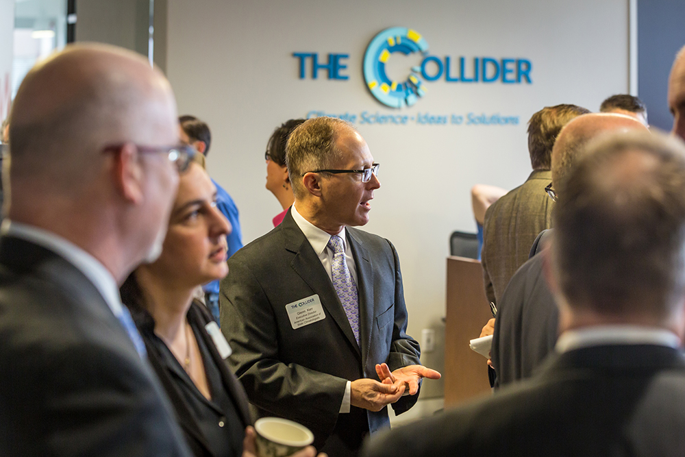 The Colllider in Asheville  on Climate Change