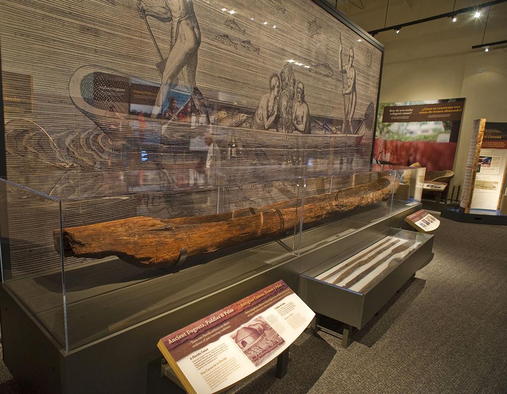 North Carolina Arboretum Showcases Dugout Canoes