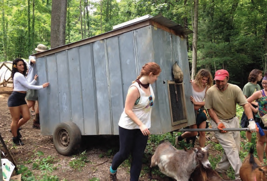 School of Integrated Living Offers Classes on Sustainability