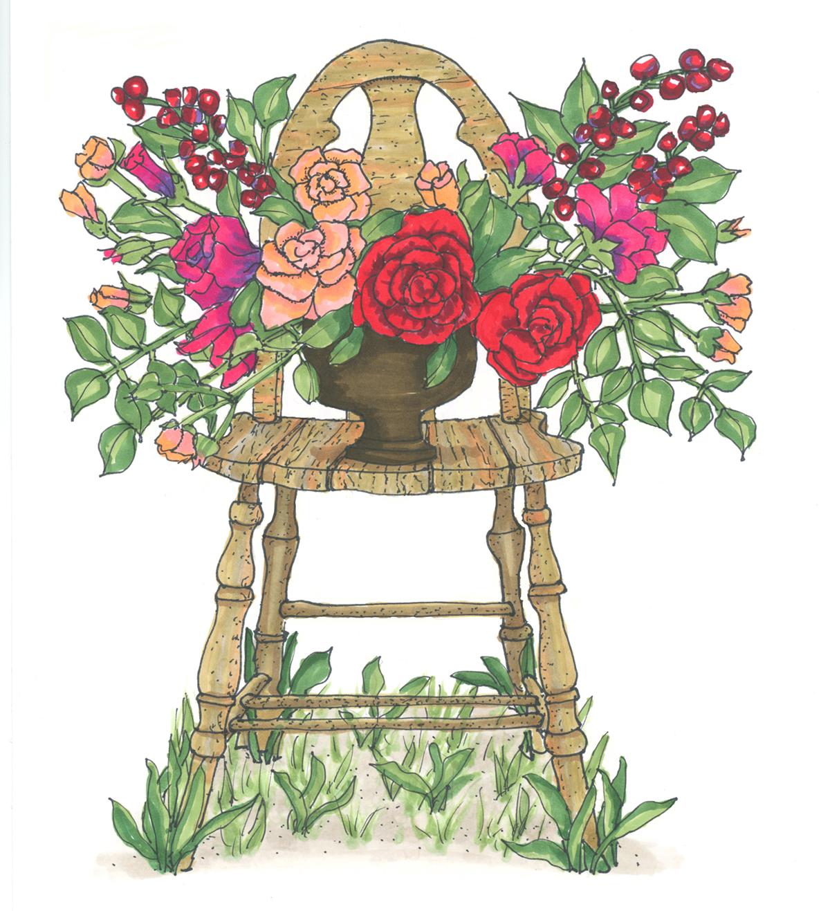 A Garden Wedding Classic
