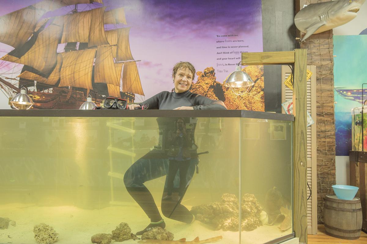 Team ECCO Aquarium and Shark Lab Welcomes New Tanks