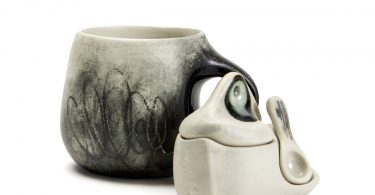 Ceramicist Audrey Rosulek at In Tandem Gallery