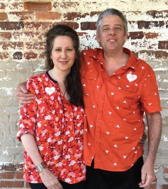 Sarah and John Faulkner