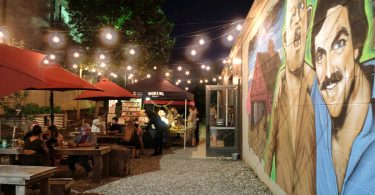 The Moonlit Market at Burial Beer Co.