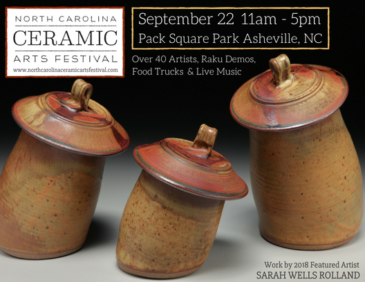 Nc Ceramic Arts Festival Returns To Pack Square Park The Laurel Of Asheville