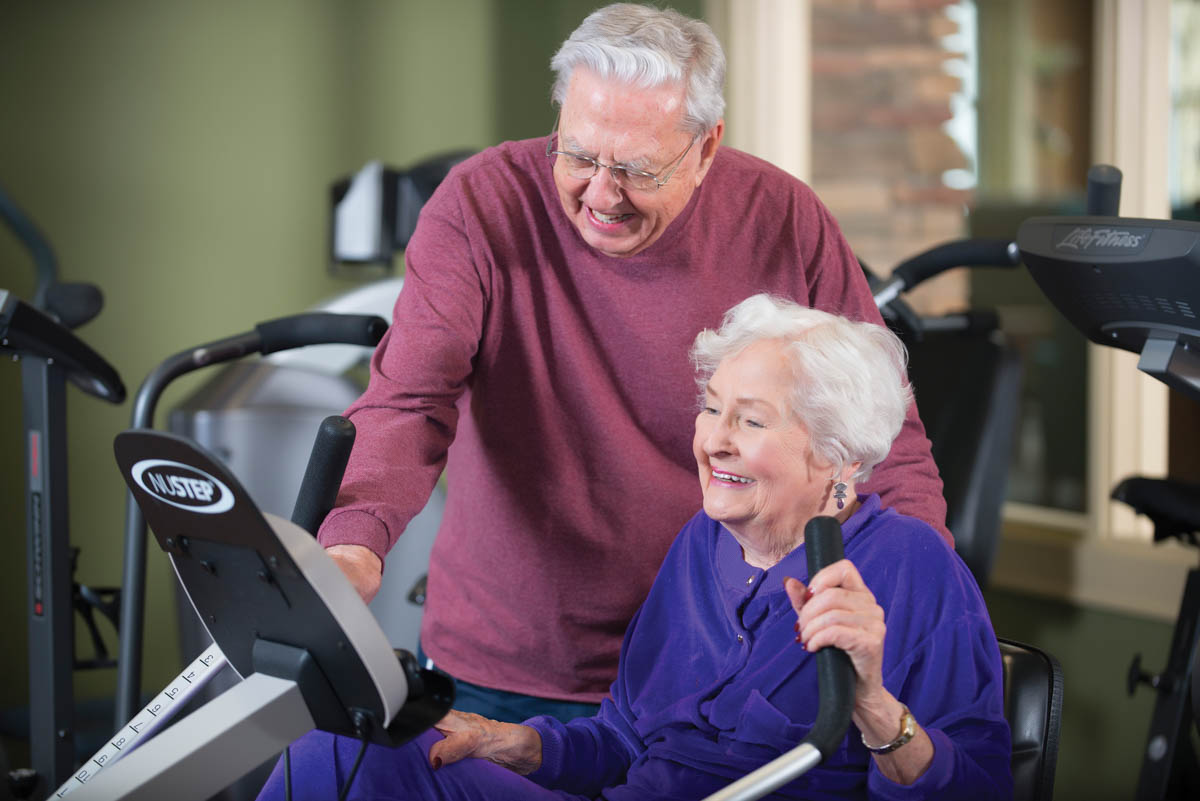 Staying Active and Fit at Deerfield Episcopal Retirement Community