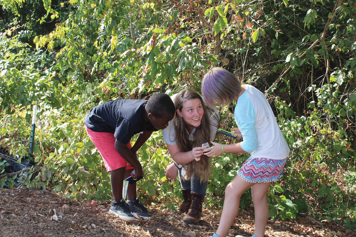 NC Arboretum Receives Grant to Expand Youth Programs