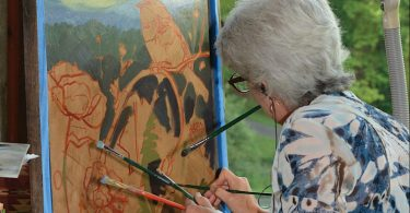 Waynesville QuickDraw: Art While You Watch