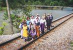 SART railroad group shot