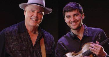 David Holt and Josh Goforth. Photo by Deni McIntyre