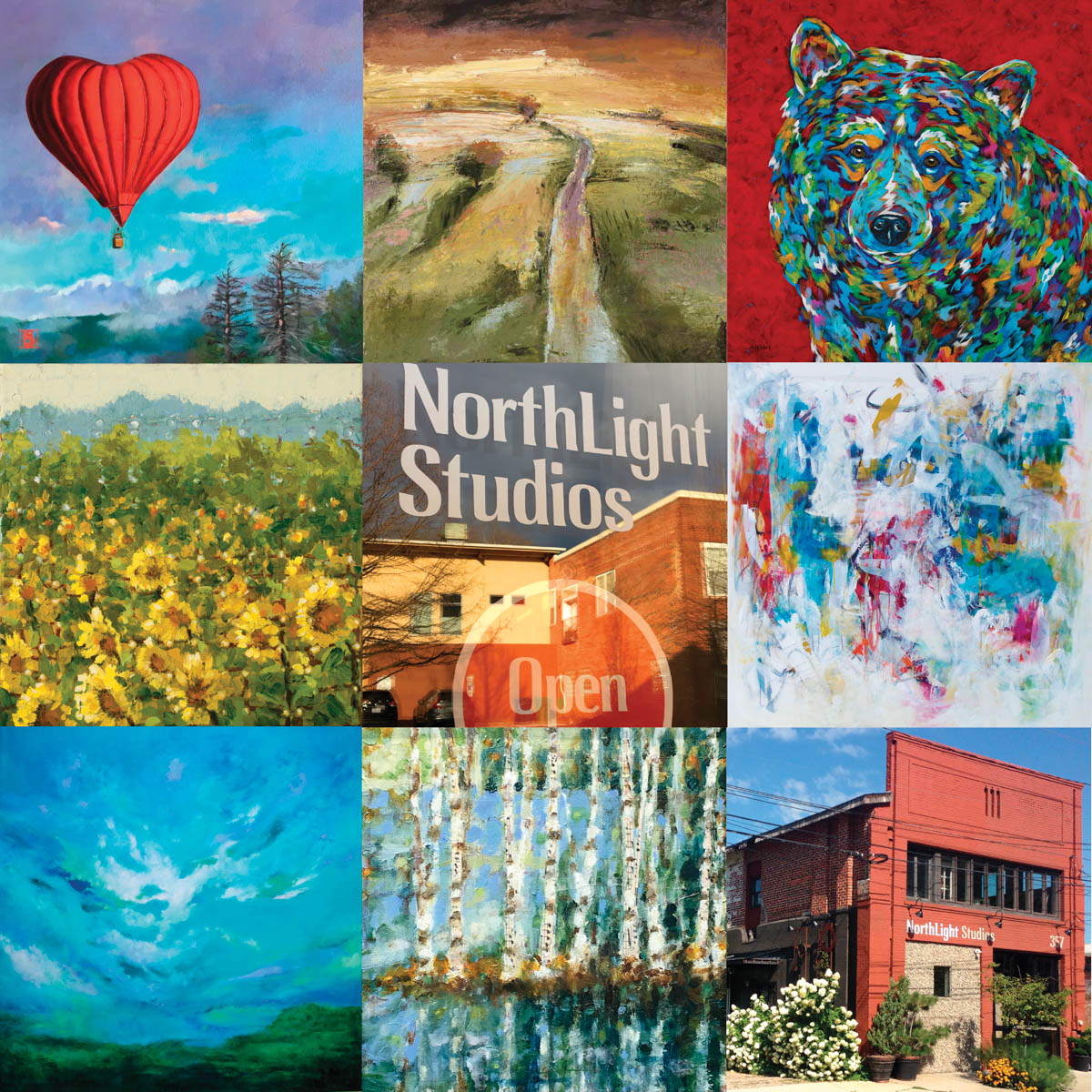 Northlight NLS collage