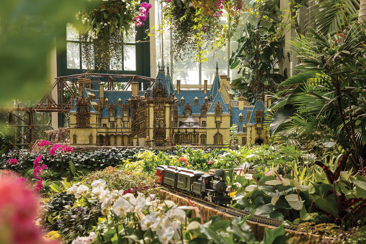 Biltmore Gardens Railway Exhibit Boasts More Than 800 Feet of Track