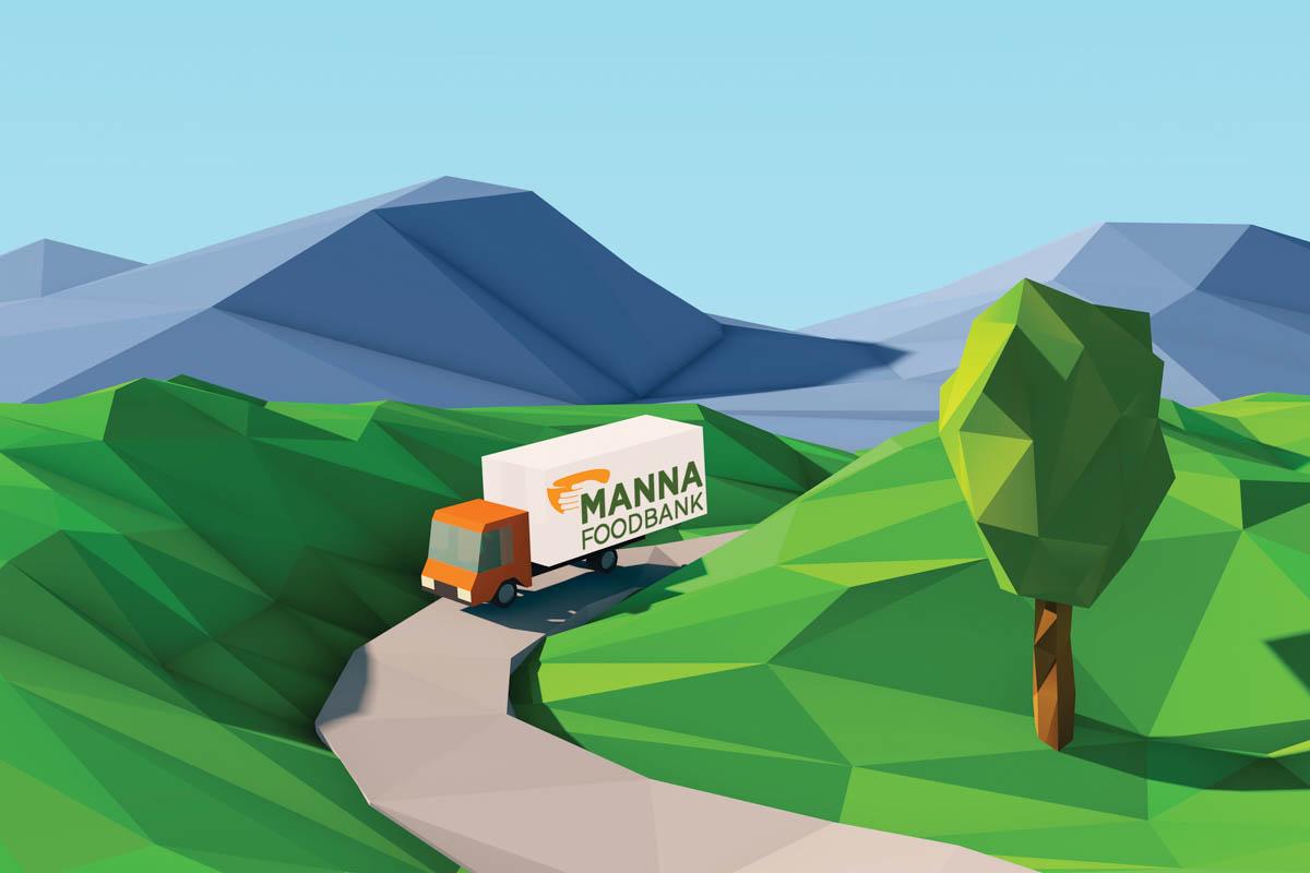 Road Trip in a MANNA Truck