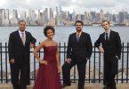 Harlem Quartet in NYC. Photo by Amy Schroeder