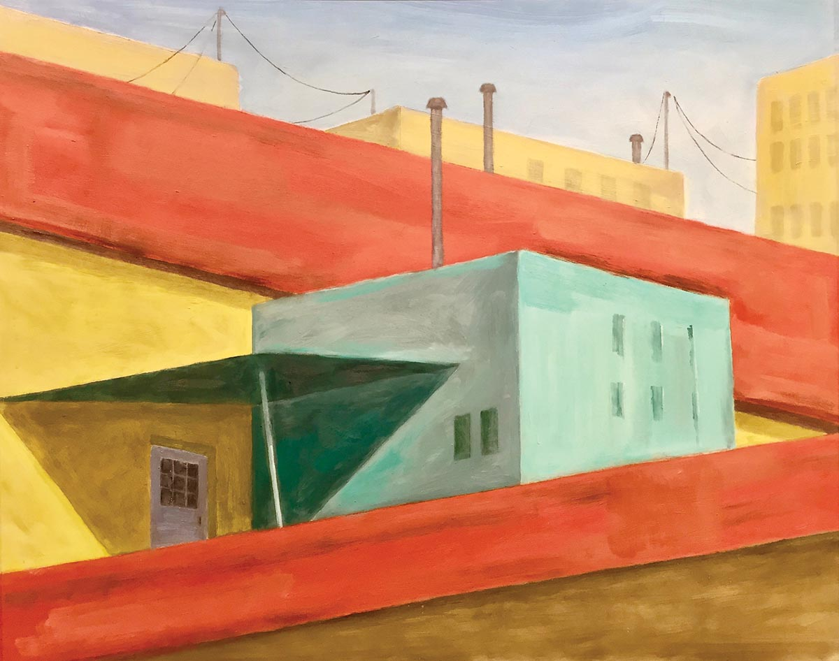 Havana #1. Bill Cole, artist