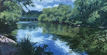 French Broad Hominy. Michael Robinson, artist
