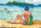 Sunbather. Virginia Pendergrass, artist