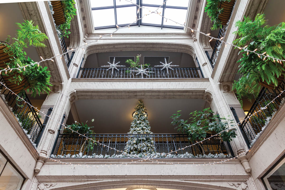 Winter Magic at the Grove Arcade