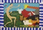 Adam Naming the Animals. Jim Gary Phillips, artist