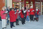 Carolers on Main Street