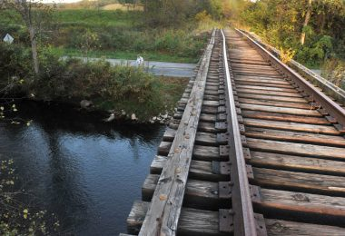 Trestle in Transylvania County.