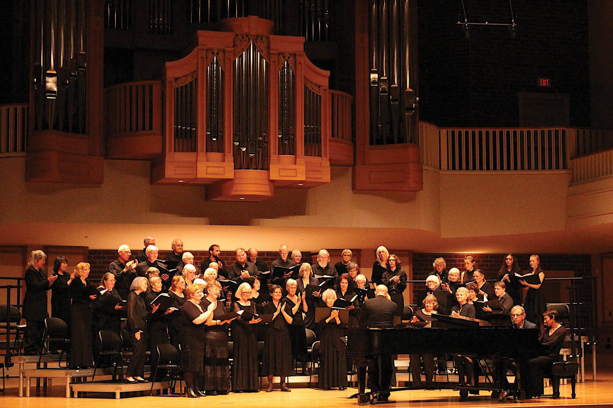 picture of choral group