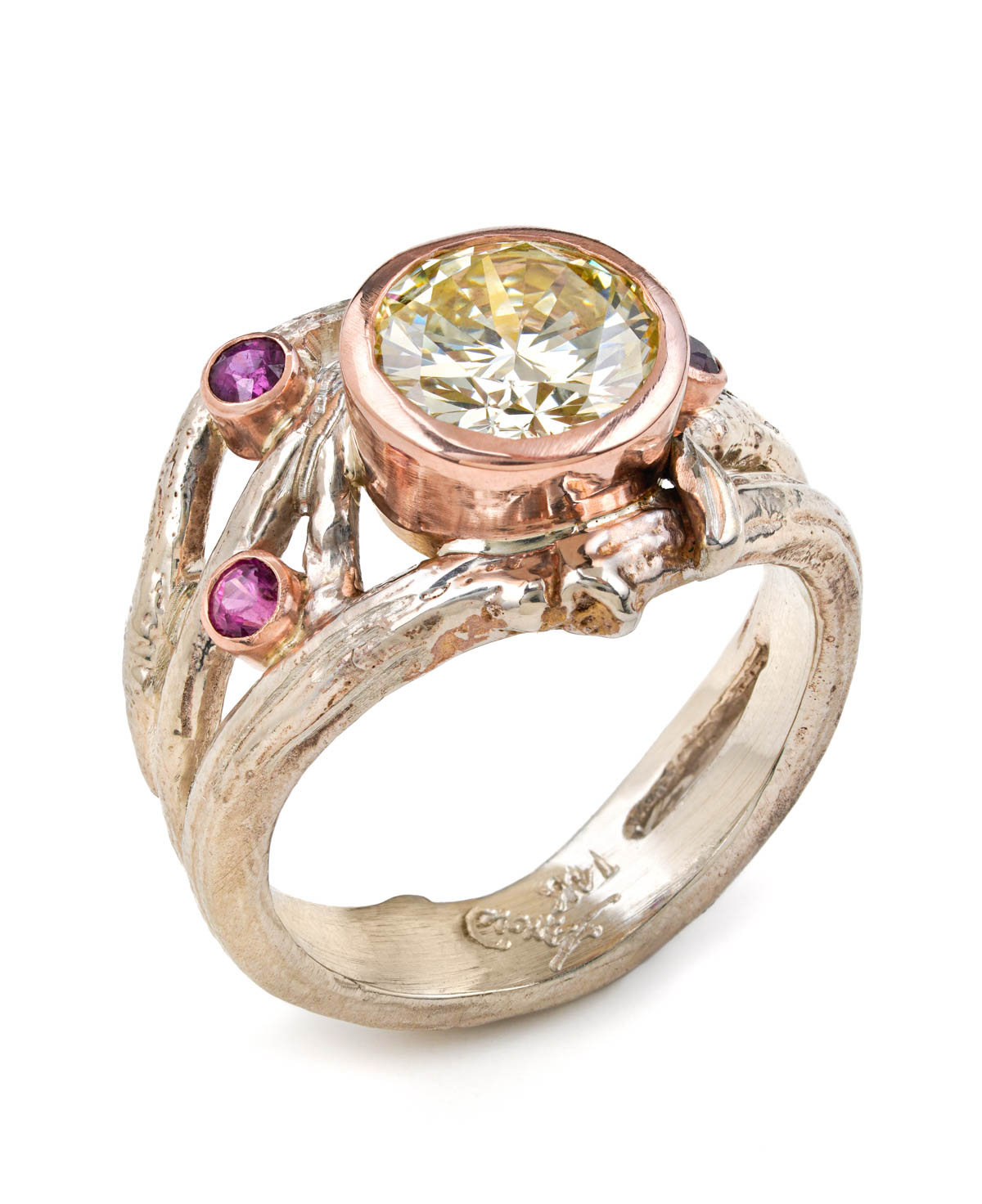 ring made by feature artist