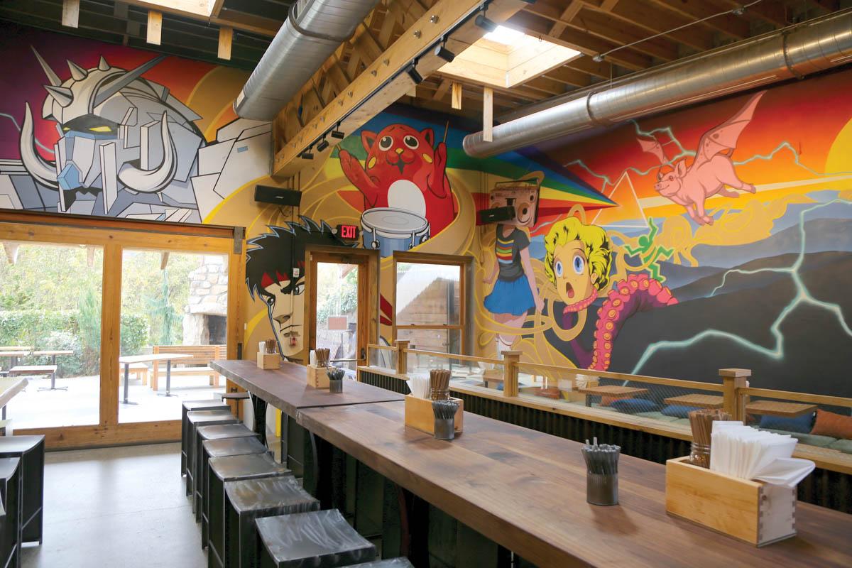 Futo Buta: Food & Art Merge in New Asheville Eatery