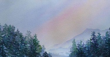 Through The Trees. Deb Sholly, artist