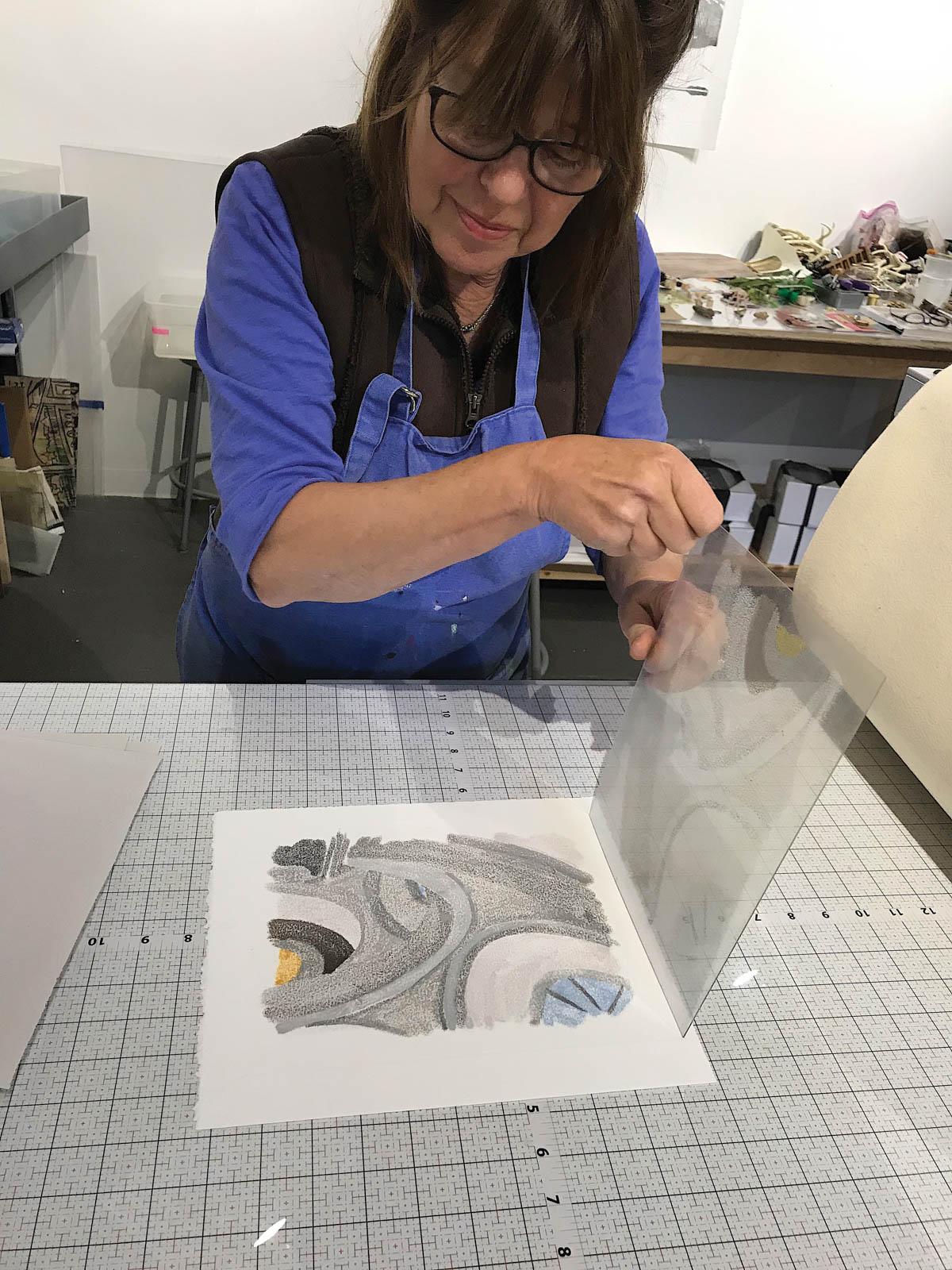 Denise Markbreit, artist