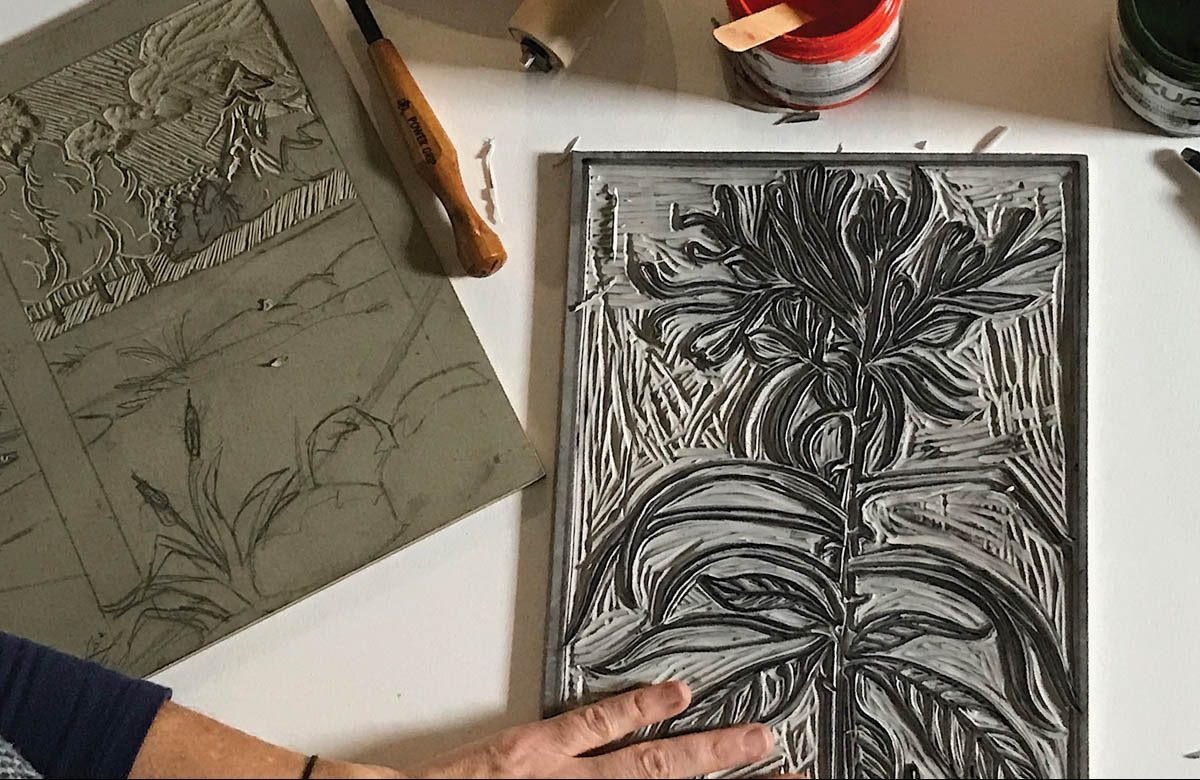 Asheville Print Studio Spring Classes