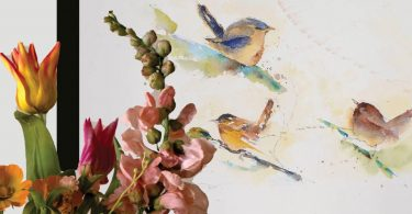 Avian Florals Event at Art MoB in March