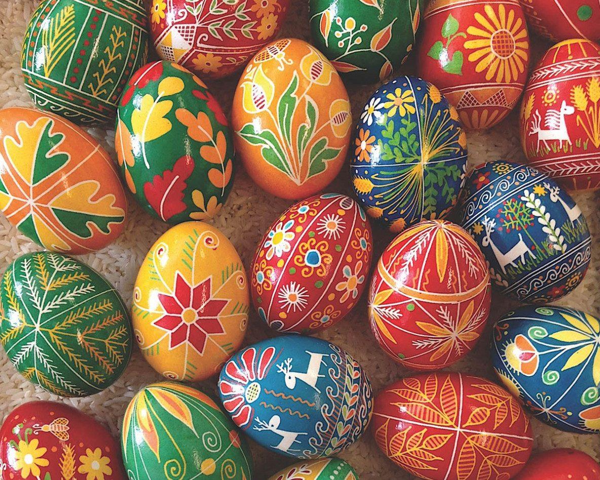 Learn the Ukrainian Art of Making Pysanky