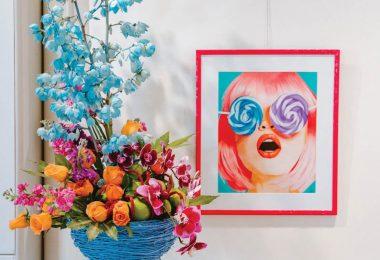 Gallery at Flat Rock Art in Bloom