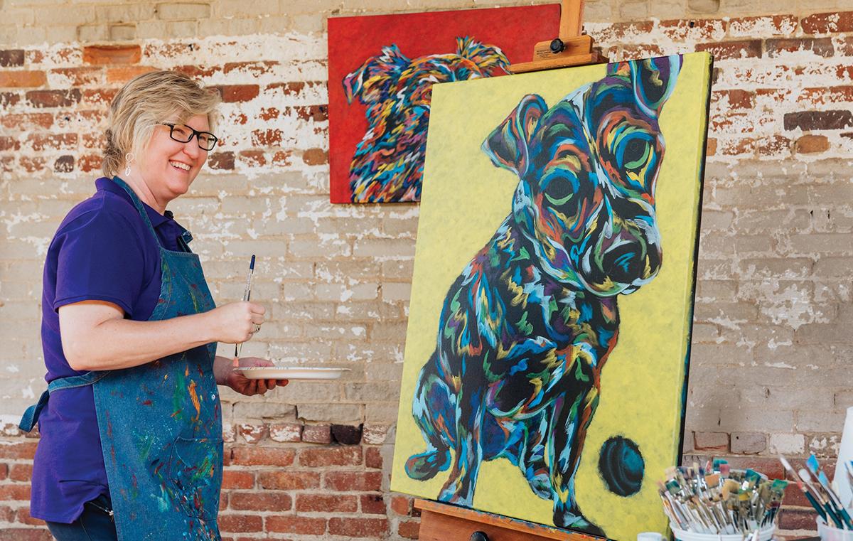 Angela Alexander in Pet Food Commercial